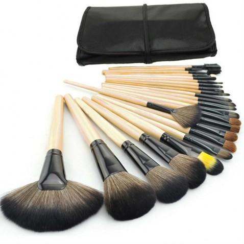 Profesionální sada kosmetických štětců - 24 kusů