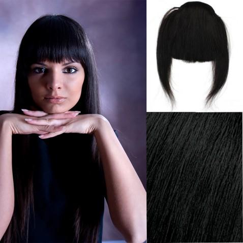 Clip in ofina – REMY 100% lidské vlasy - odstín 1B