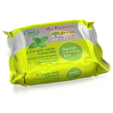 Přírodní bio mýdlo Ma Provence – čerstvá máta, 75g