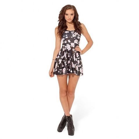 Dámské letní šaty Plum Flowers